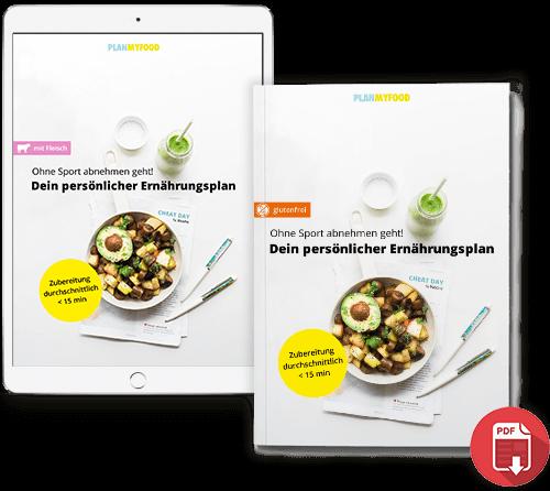 Ernährungsplan zu Abnehmen PLANMYFOOD Cover