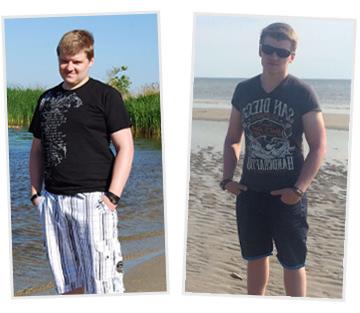 Daniel hat -19kg in 12 Wochen abgenommen